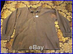 CIVIL War Reenactment Reproduction Confederate Uniform Coat/henschel Hat/2shirts