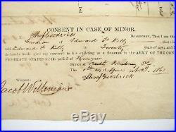 CIVIL War South Carolina Confederate Enlistment Castle Pinckney 1861