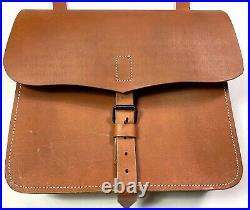 CIVIL War Us Union Csa Confederate Artillery Leather Pass Haversack Carry Pack