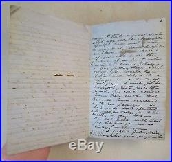 CONFEDERATE CIVIL WAR LETTER-1863 Atlanta after Vicksburg, 6 pages, transcribed