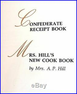 CONFEDERATE COOKBOOK SLAVERY antique CIVIL WAR recipes CURES+ BLACK AMERICANA +