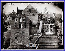 Confederate Soldiers Rebuilding Bridge Vintage Reproduction Of CIVIL War Photo