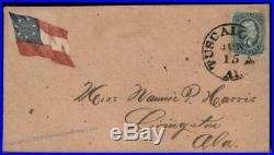 CSA #11 Civil War Confederate Cover Tuscaloosa Alabama Patriotic 92709
