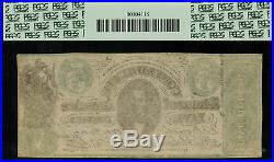 CT-33 $5 1861 Confederate Currency CSA Civil War Counterfeit PCGS 53PPQ
