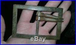 Civil War Buckle Confederate Frame Style Brass Many Pics