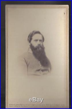 Civil War CDV, Confederate General Fitzhugh Lee
