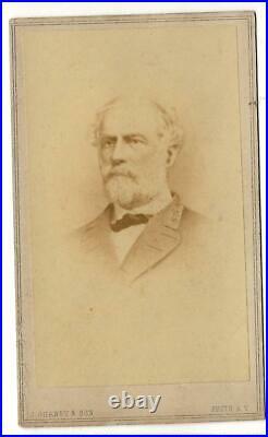 Civil War CDV Confederate General Robert E Lee by Gurney