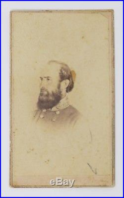 Civil War CDV Confederate General Stonewall Jackson Fredericks