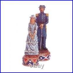 Civil War Collectors Gifts Confederate Union CHESS SET & BOARD North vs South