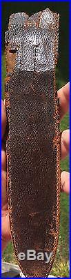 Civil War Confederate Blacksmith Made Bowie Knife CSA