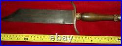 Civil War Confederate Bowie Knife No Sword Dagger