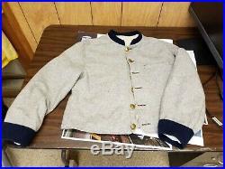 Civil War Confederate Columbus Depot Jacket 40-42