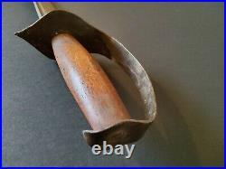 Civil War Confederate D Guard Short Sword antique bowie knife sword
