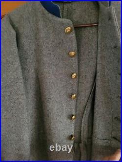 Civil War Confederate Frock Coat CSA. Sz 40-42