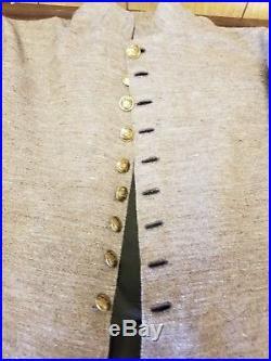 Civil War Confederate Frock Coat Sz. 44