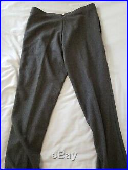 Civil War Confederate General Officers Enlisted Army Wool Pants Trousers