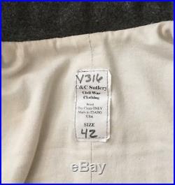 Civil War Confederate Jacket