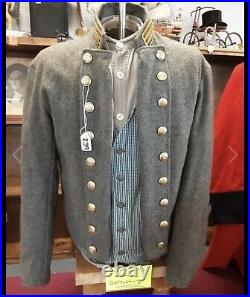 Civil War Confederate Jacket Coat Shirt & Vest WORN IN MOVIE GETTYSBURG
