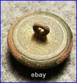 Civil War Confederate Kentucky Military Institute Button Rare 21.1mm