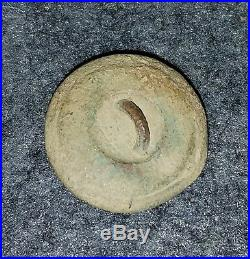 Civil War Confederate Manuscript Lined I Infantry Button Rare Vest 19mm