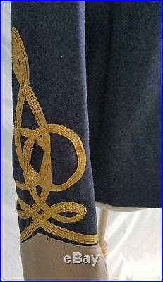 Civil War Confederate Military Army Generals Uniform Shell Jacket and Wool Pants