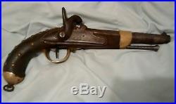 Civil War Confederate Native American Indian Percussion Trade Blanket Gun Pistol