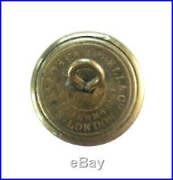 Civil War Confederate Script Infantry'I' Button