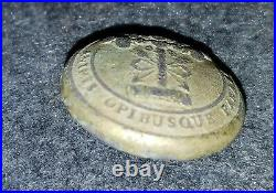 Civil War Confederate South Carolina Button Dug Rappahannock Station, Va. 23mm