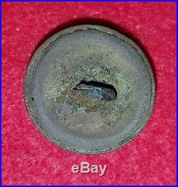 Civil War Confederate Staff Officer's Button 21mm Dug Nashville