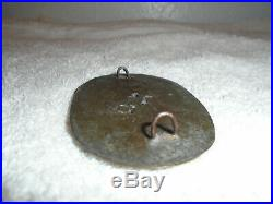 Civil War Confederate States Cartridge Box Plate buckle non dug