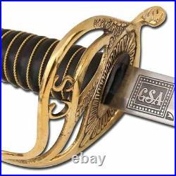 Civil War Confederate States of America Cavalry Officer Saber Sword Replica CSA