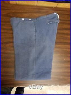 Civil War Confederate Trousers Sz. 37