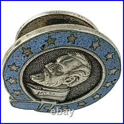 Civil War Confederate Veterans Of Kentucky Lapel Stud Pin Badge engraved ID'D