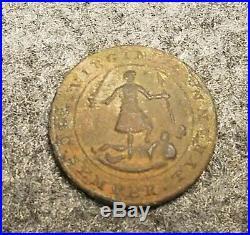 Civil War Confederate Virginia 1 Piece Button (VA 2) Fredericksburg, Va 15mm