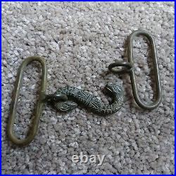 Civil War Confederate snake buckle found at Fort Battery Hill in Bridgeport AL