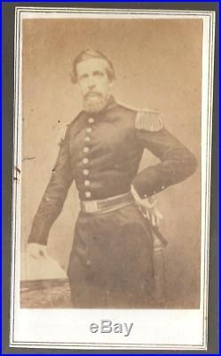 Civil War Era CDV Confederate General Bernard Bee Killed at Bull Run