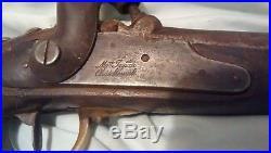 Civil War Era Confederate Import Indian Percussion Trade Blanket Gun Pistol