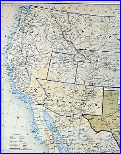Civil War Map Dec 1864 United States Confederate West Territories - Us-map-1864