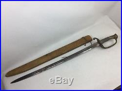 Civil War Officers Sword French Import For Union Or Confederate