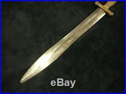 Civil War Rare Confederate Artillery Short Sword Ames copy of 1832