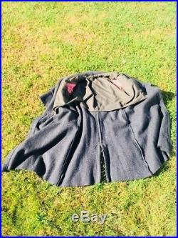 Civil War Reenactment Jacket Confederate States Infantry Great Coat CSA Uniform
