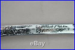 Civil War Replica Officer's Sword Confederate Scabbard Leather Handle & Strap