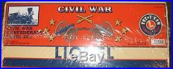 Civil War UNOPENED CONFEDERATE 6-21901 LIONEL Train SET