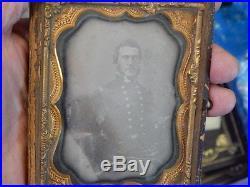 Civil war Confederate Naval Officer Daguerreotype Lt. John Stribling Blockade Ru