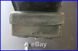 Civil war Pattern 1860 Enfield cartridge box British import Confederate Union