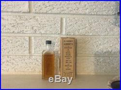 Civil war Rare Dr. Tichenors Antiseptic Refrigerant 1895 Confederate Label Box