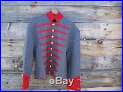 Civil war confederate reenactor mississippi shell jacket 48
