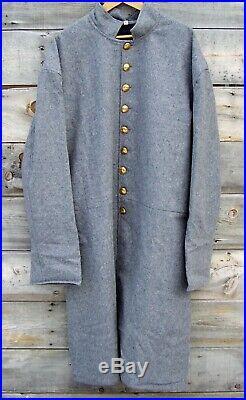 Civil war confederate single breasted frock coat 46