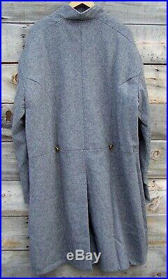 Civil war confederate single breasted frock coat 48