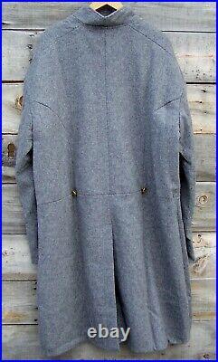 Civil war confederate single breasted frock coat 52